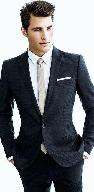 Best 25  Black suit men ideas on Pinterest | Black suits, Suits ...