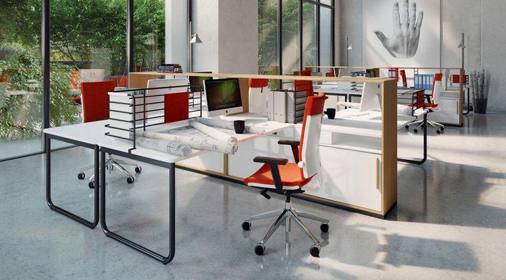 Rendering, Nowy Styl stand, BN Office Solution by WertelOberfell