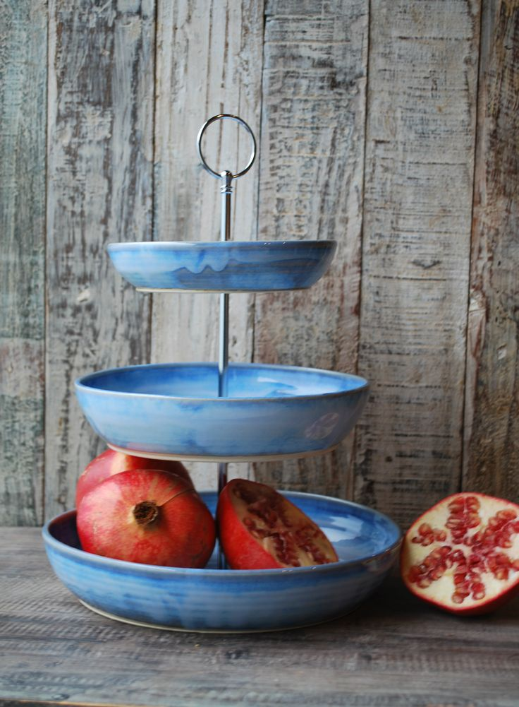 Rosemarie Durr Pottery | Fruit stand