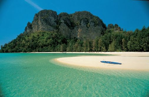 Piece of paradise.. Beach somewhere in Thailand