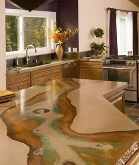 #lglimitlessdesign #contest Image Result For Concrete Countertops With  Fossil