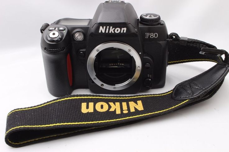 【EXC++++】Nikon F80 35mm SLR Film Camera Body w/Strap From Japan #Nikon