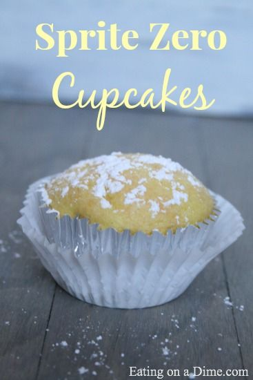 80 Calories Cupcake - The Best Skinny Cupcake Recipe - Eating on a Dime