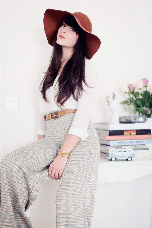 missoniFashion, Hippiechic, Missoni Pants, Meeting Outfit, De Missoni, Belts Collection, Missoni Outfit, Missoni Lov, Floppy Hats