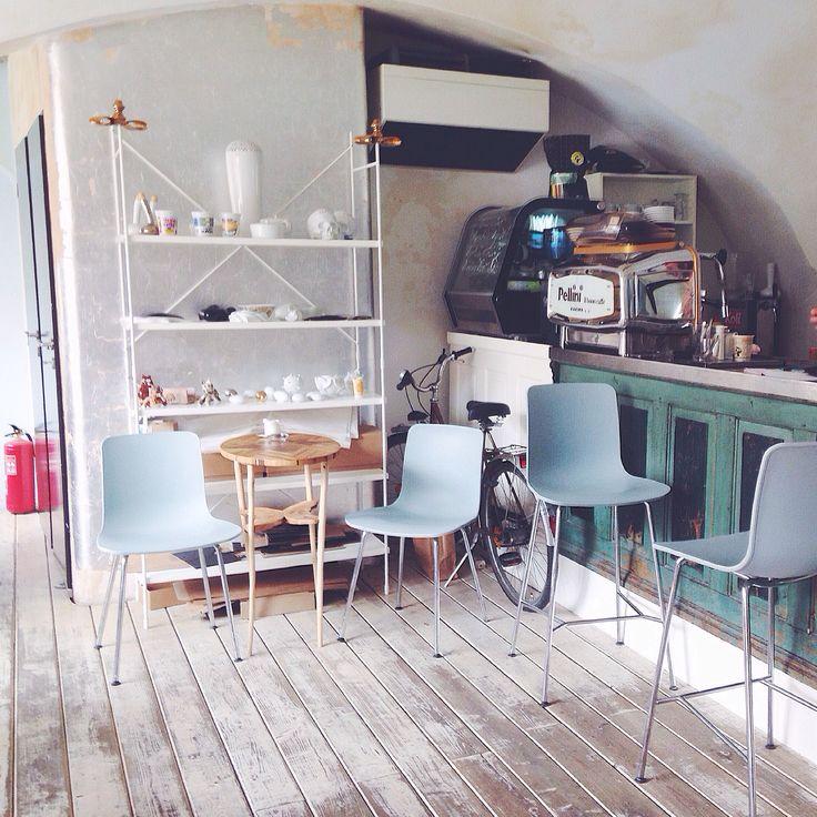 My favourite cafe in south of Moravia-Mikulov, cafe Büro.