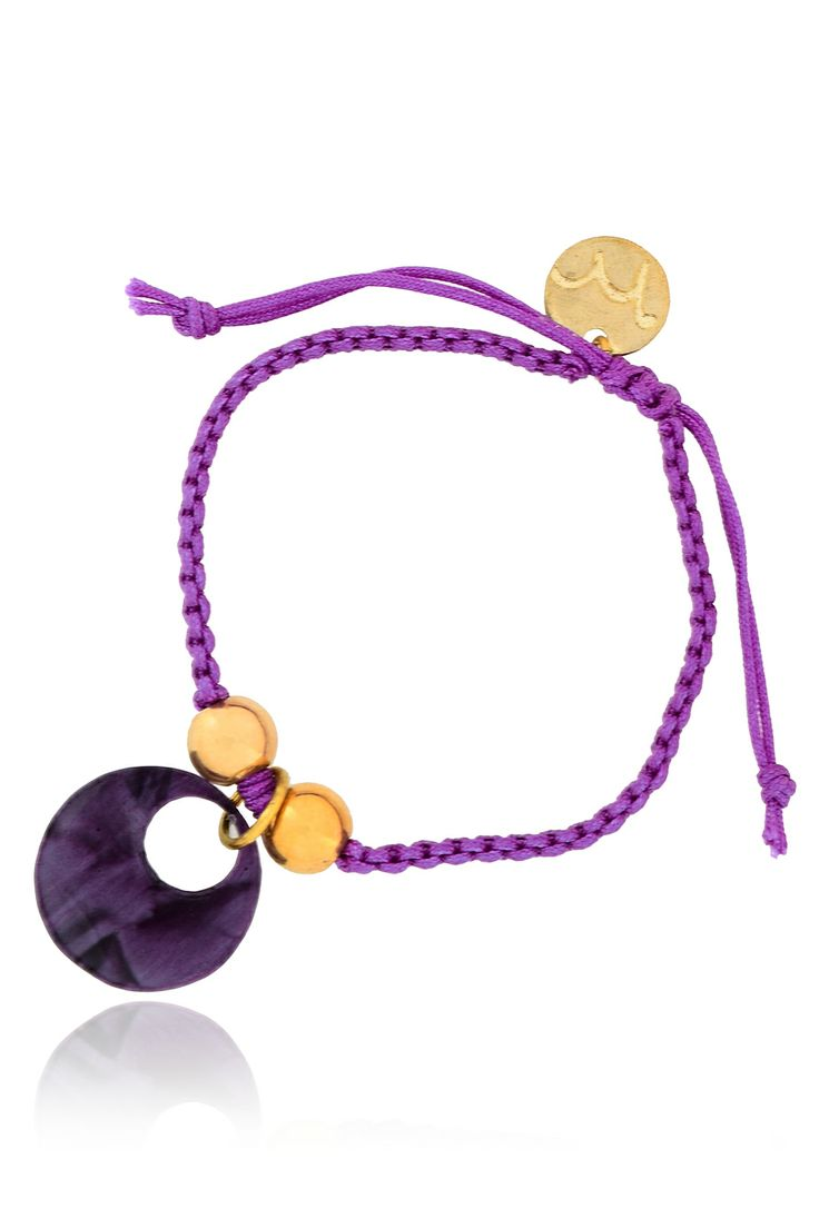 MANCOTÍ 	 MARIOLA Purple Friendship Bracelet