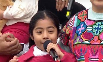 Watch 6-Year-Old Sophie Cruz Give One Of The Best Speeches Of The Women's March