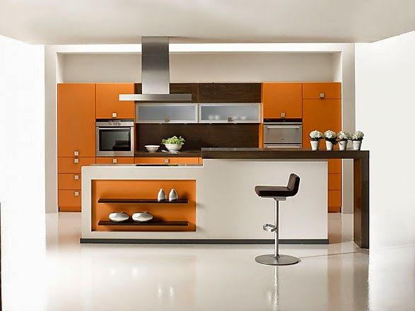 120 best images about decoracion de cocinas on pinterest for Decoracion cocinas modernas