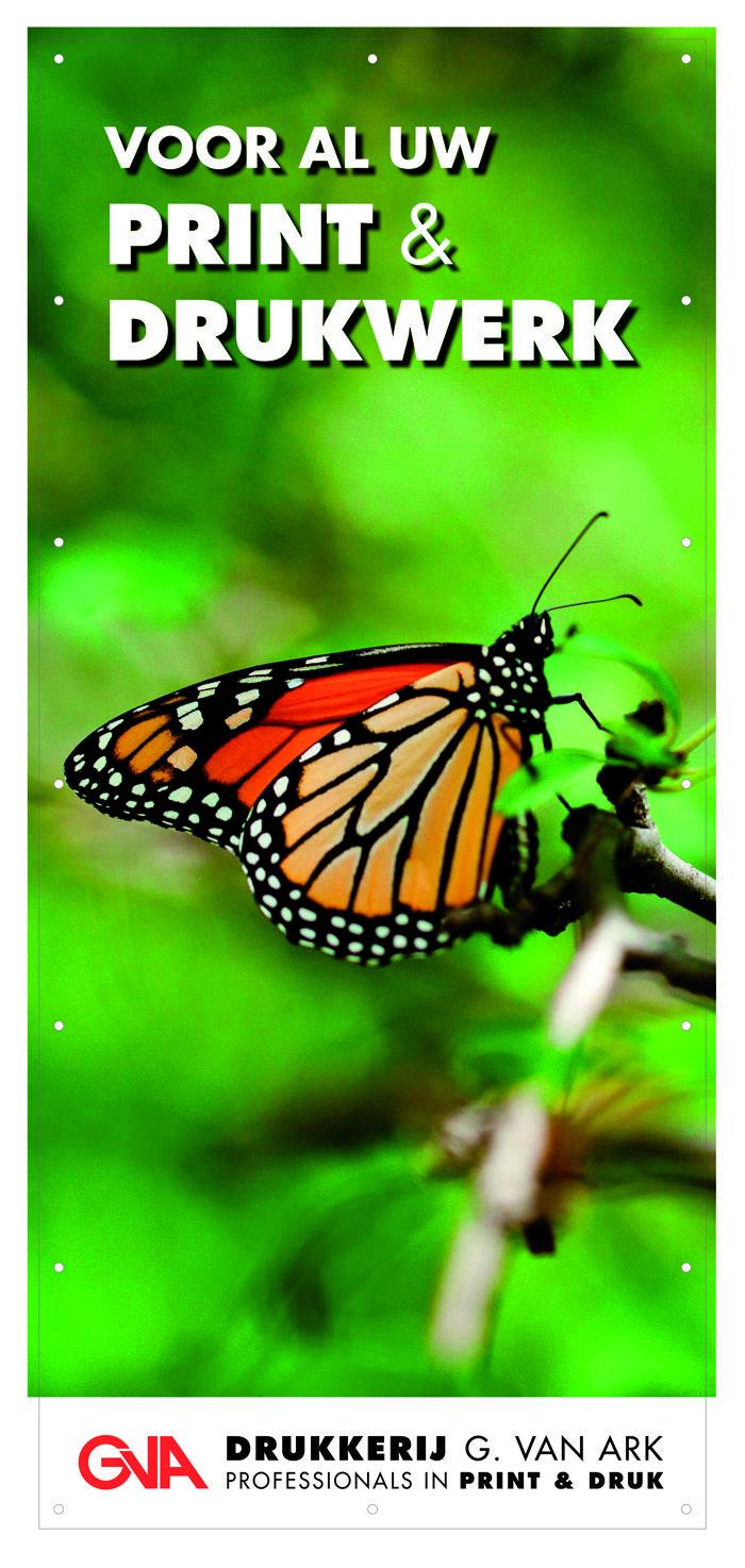 een gevelbanier vormt feitelijk uw visitekaartje en laat een goede indruk achter bij uw huidige en toekomstige relaties. www.drukkerijvanark.nl