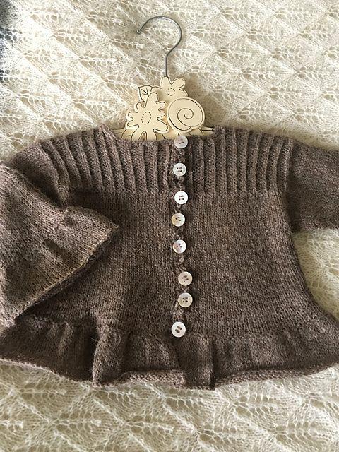a50eb872b81d Namya child cardigan pattern by Anne B Hanssen