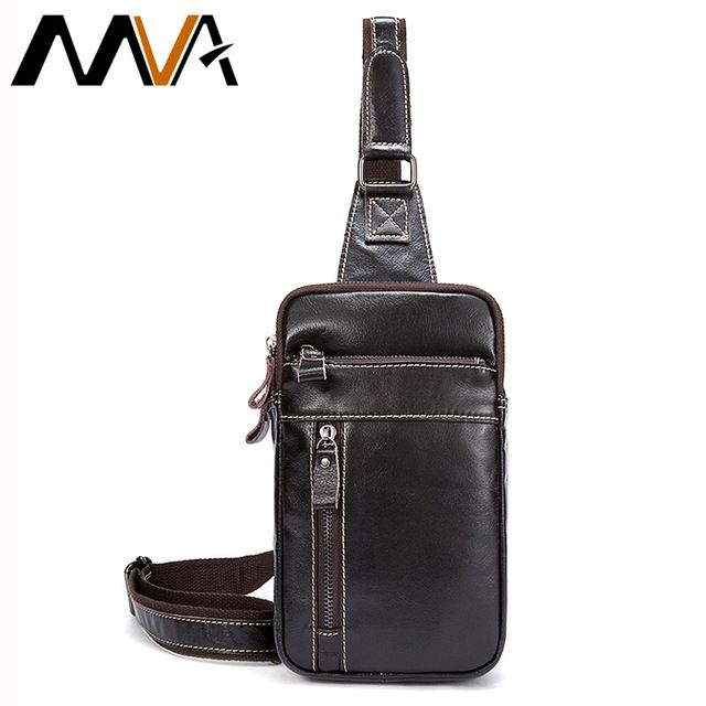 Check lastest price MVA Genuine Leather Men Bag Men's Crossbody Bag Men Messenger Bags Zipper Leather Phone Chest Pack Waist Small Belt Bag Male just only $18.96 with free shipping worldwide  #crossbodybagsformen Plese click on picture to see our special price for you