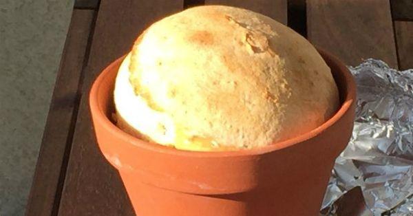 Κήπος Στα Μεσόγεια: Ψωμί Χωριάτικο στα Κάρβουνα