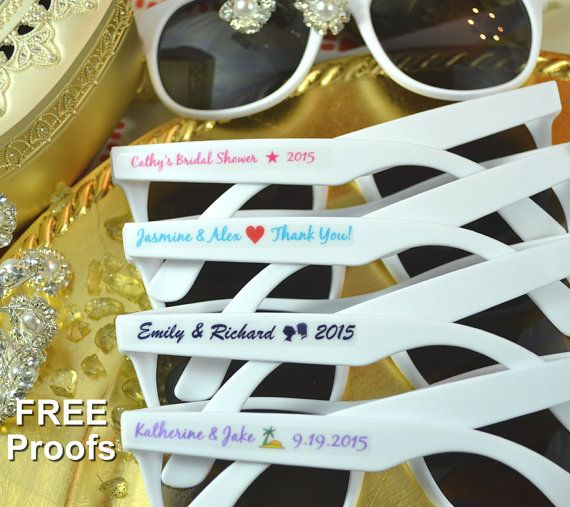 Beach Wedding Favors 10 Sunglasses Party By DealCardinal