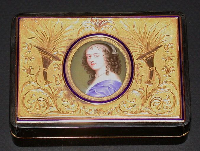 Ninon de Lenclos (1620-1705), 17th C by Jean Petitot