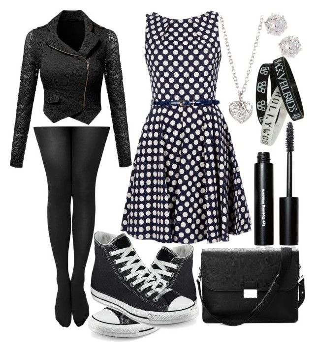 I really love you! <3 by slytheriner on Polyvore featuring Converse, Aspinal of London, Finn, River Island and Bobbi Brown Cosmetics