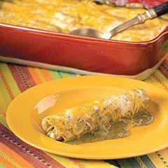 Green Chile Chicken Enchilada Casserole Recipe by VEFAJARDO