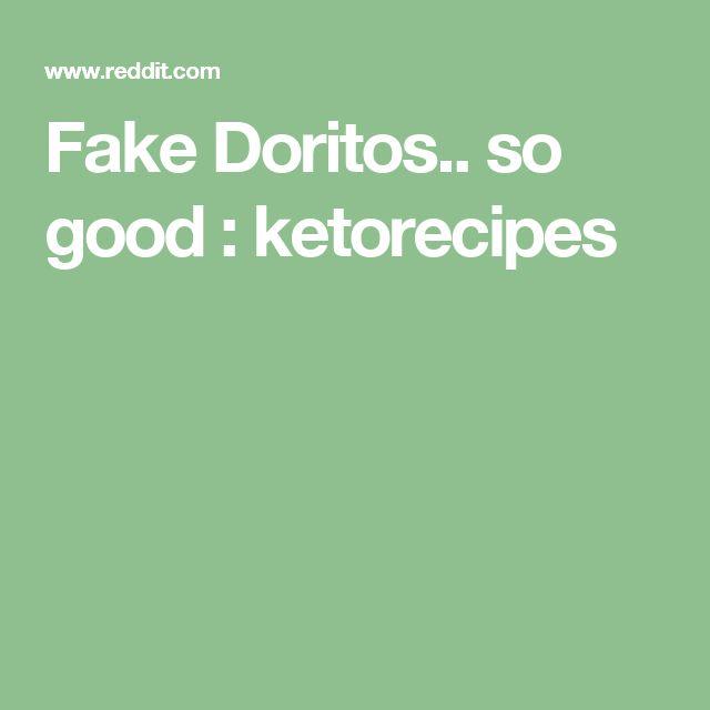 Fake Doritos.. so good : ketorecipes