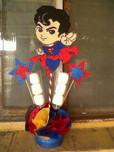 Superman Centerpiece Centro de mesa