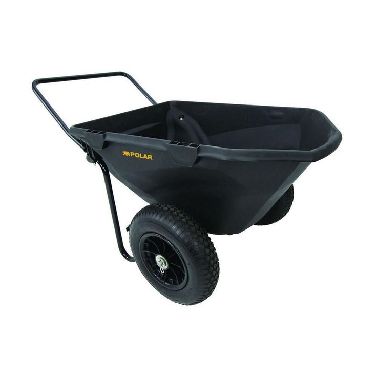 Attractive Ft. Heavy Duty Cub Hand Dump Yard Cart With Pneumatic Tires
