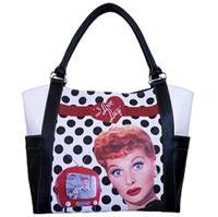Lucy Polka Dot Tote Bag