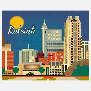 Raleigh Print
