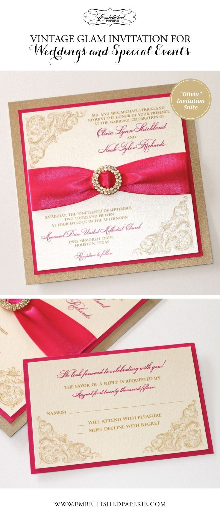 37 best lace wedding invitations images on Pinterest | Laser cut ...