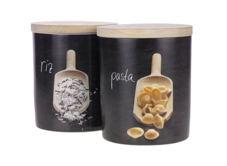Pasta & rice jars, £5.99 each.