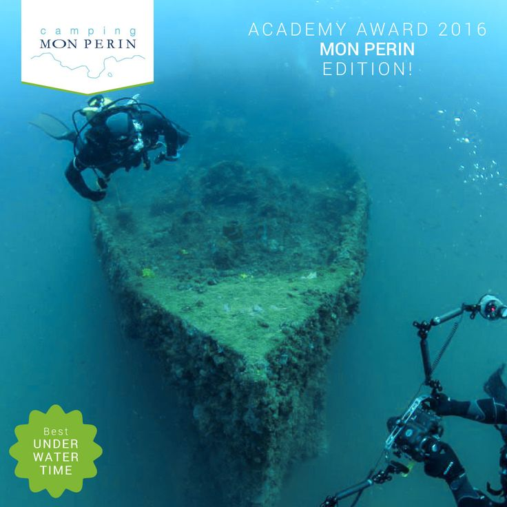 Best UNDERWATER TIME - Discovering the ship wrecks near Camping Mon Perin