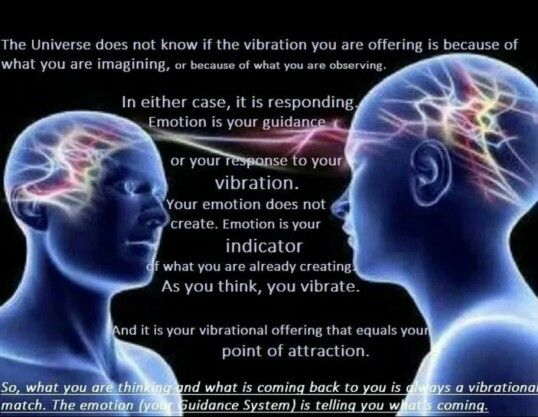As You Think So You Vibrate