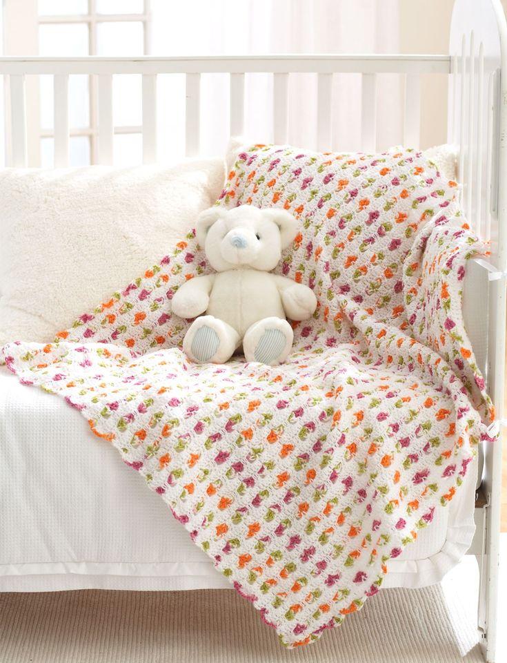 Mejores 76 imágenes de Crochet Blankets en Pinterest | Mantas ...