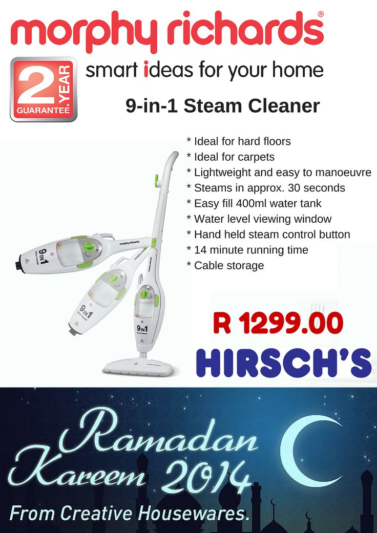 9-in-1 Steam Cleaner