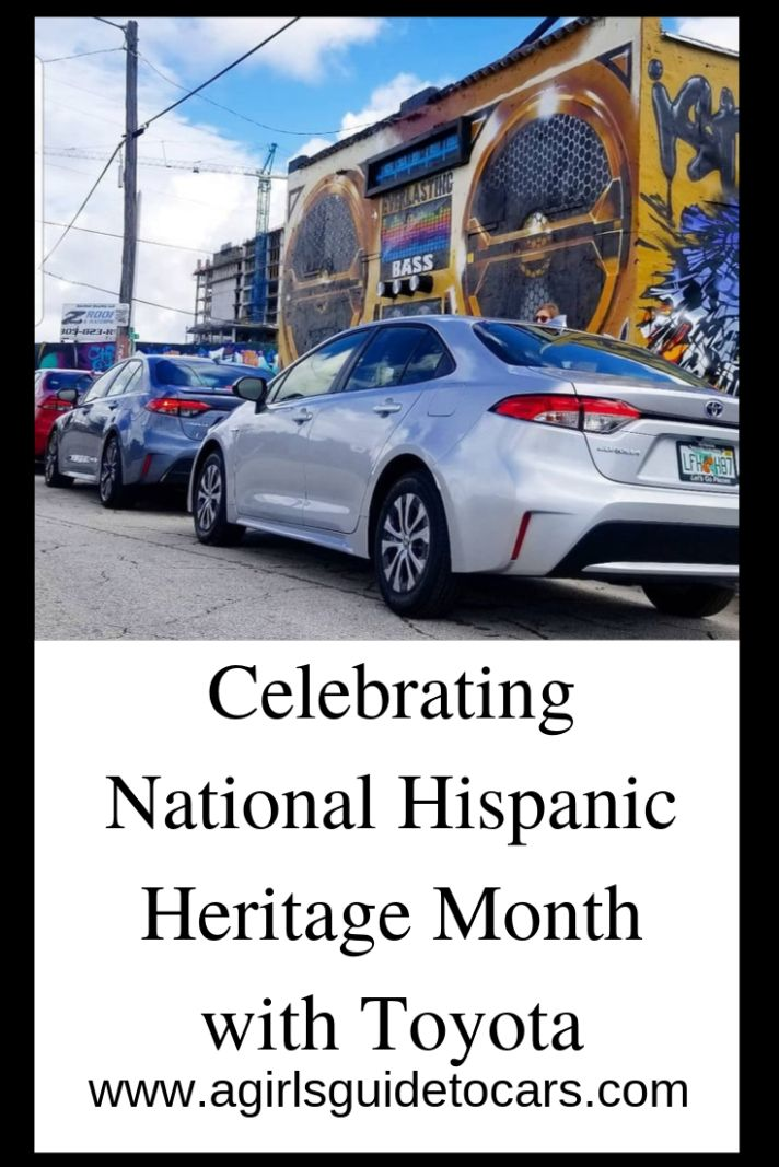 Touring Miami for Hispanic Heritage Month in a Toyota Corolla