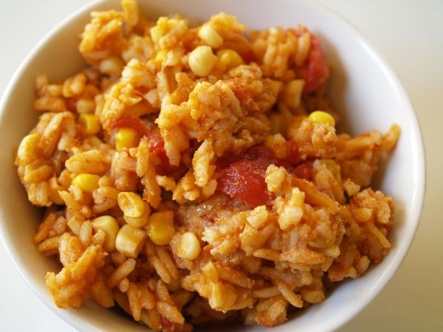 how to make mexican rice with brown rice