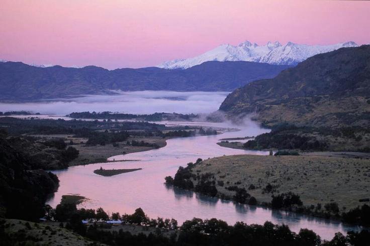 Rio Baker, region de Aysen; Chile