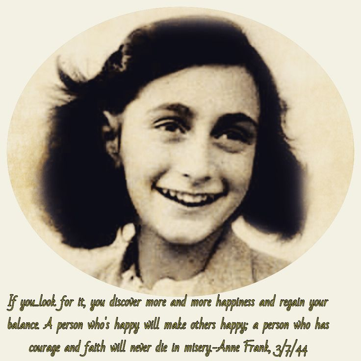 Anne Frank Quotes: 1000+ Anne Frank Quotes On Pinterest
