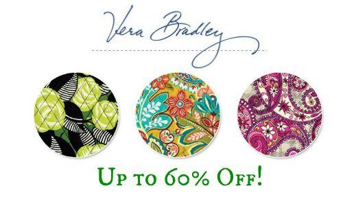 Vera Bradley Sale: 60% Off La Neon Rose, Paisley Meets Plaid, & Provencal