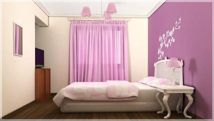 3d dormitorio adolescente shabby chic dise o y - Dormitorio shabby chic ...