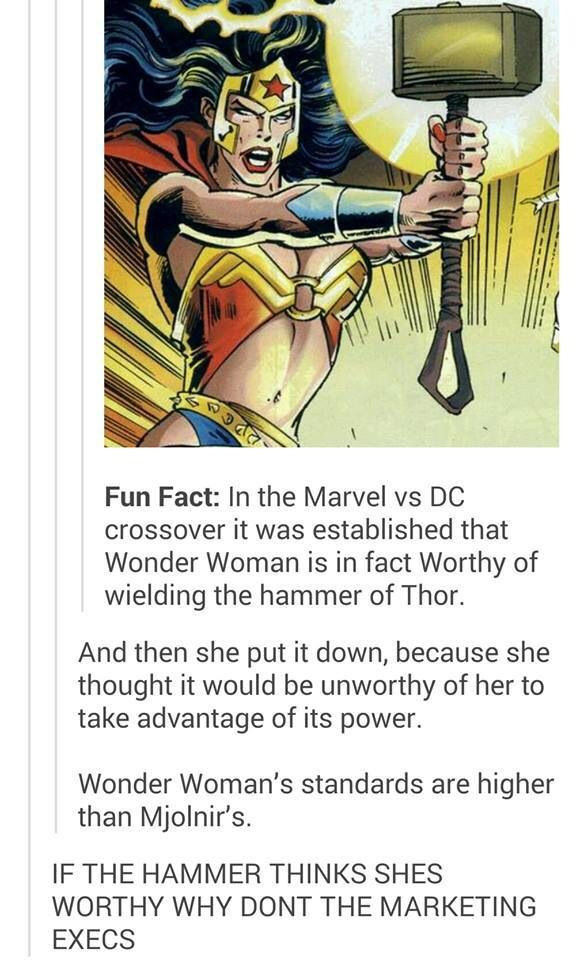 Wonder Woman is the bomb