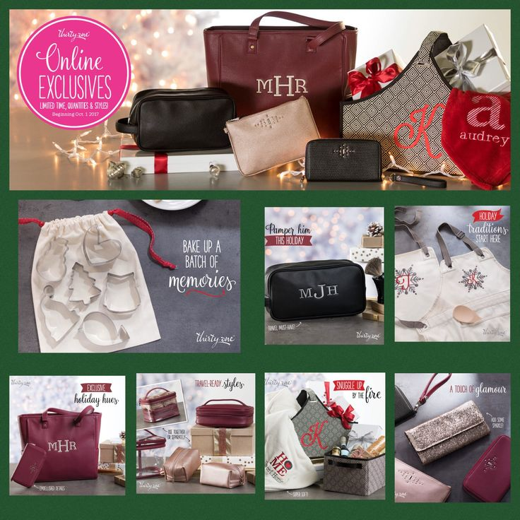 Online exclusive items just in time for Christmas from Thirty-One