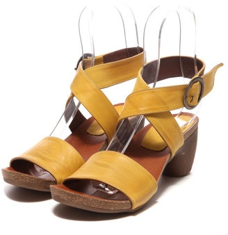 Yellow strap sandal / ShopStyle: モード・エ・ジャコモ ガンゾ MODE ET JACOMO GANZO ガンゾ サンダル