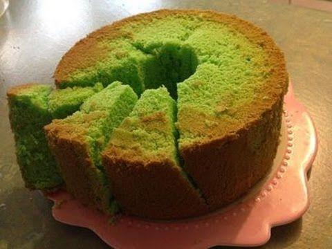 Ken jij de groene Pandan sponscake? Deze Indonesische lekkernij maak je gewoon zelf met dit recept! - Zelfmaak ideetjes
