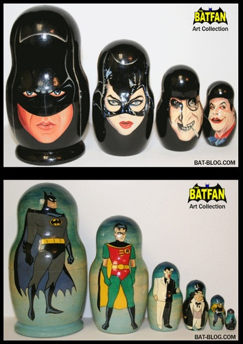 Nesting dolls for geeks!!