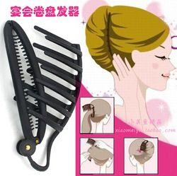 Korean Banquet Hair braider Curlers Dish hair Bud head shape Braided hair tool Styling Braiding Tool Aliexpress Mobile