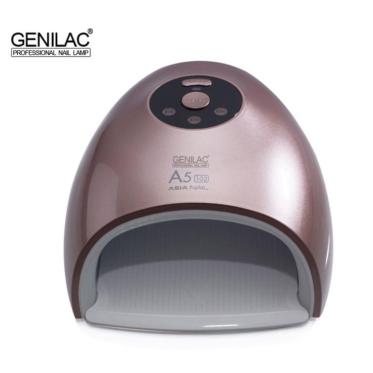 Genilac A5 48W UV LED sun Red Light Nail Lamp 24 LEDs Whitening skin Nail Dryer UV LED  Nail Lamp  for Curing Nail Gel Art Tool