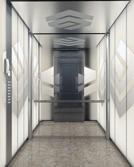 Asansor kabin  3dsmax