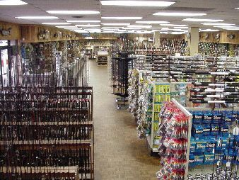 Barlows Fishing Tackle Retail Store