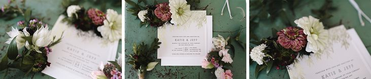Intimate wedding at the Drake Devonshire candid and photojournalistic detail photos of the invitations hipster and indie  Photography by— Ryanne Hollies Photography Toronto Wedding Photographer
