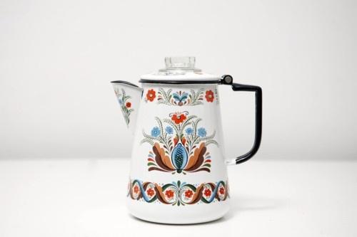 Vintage Scandinavian Coffee Percolator