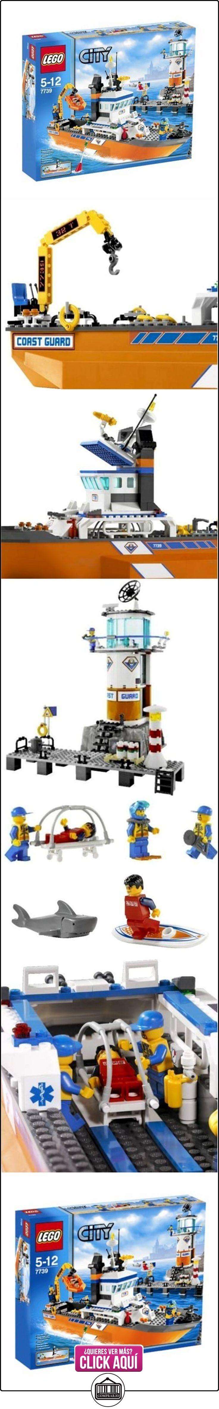 LEGO City - Lancha y torre de vigilancia de los guardacostas  ✿ Lego - el surtido más amplio ✿ ▬► Ver oferta: http://comprar.io/goto/B0013V6AAO
