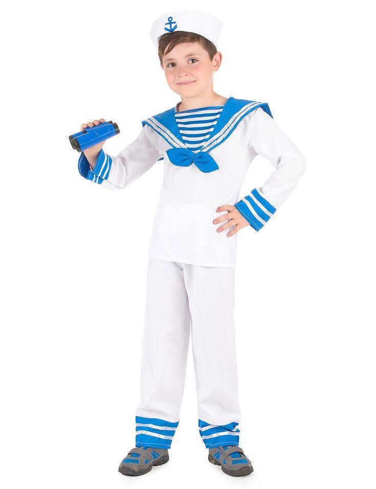Dit marinier verkleedkostuum voor jongens is perfect voor een thema feestje of voor Carnaval. Geniet nu van onze leuke artikelen voor Carnaval en themafeestjes tegen de beste prijzen van het internet